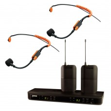 Shure Dual  BLX Wireless System with SM31FH Headsets for Team Teaching